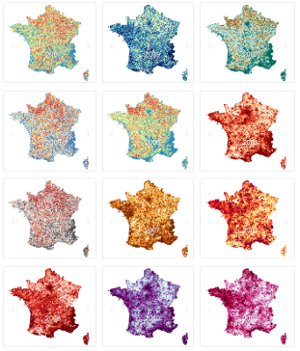 La France aux couleurs de Nos Finances Locales
